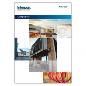 Interpon Living Colors Colour Chart