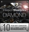 Interpon Steelplex Diamond 10 Warranty Logo