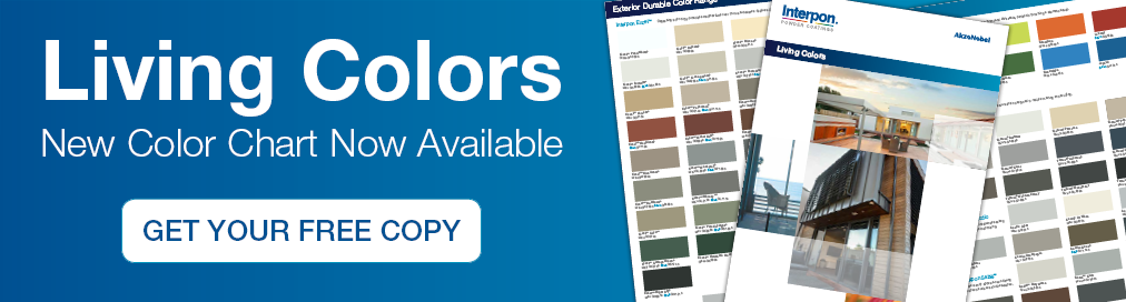 New Interpon Living Colours Colour Card now available